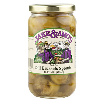 Brussels Sprouts (Dill & Pickled) 16 Fl.Oz. - Taste of Amish