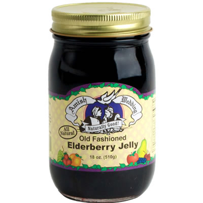 Elderberry Jelly 18oz - Taste of Amish