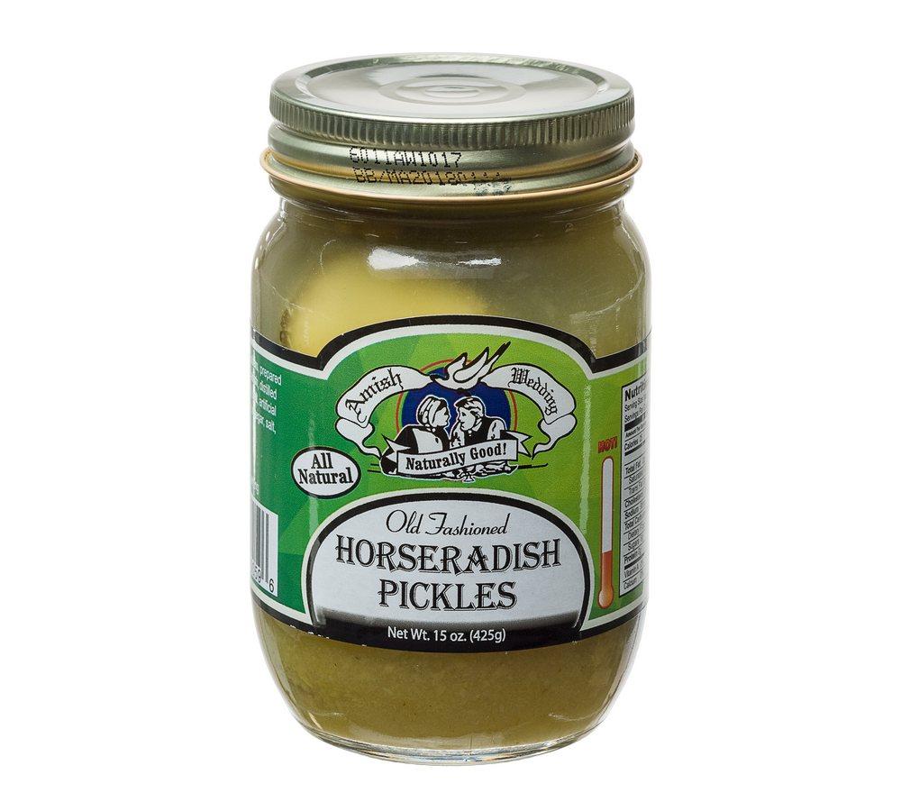 how to make sweet horseradish pickles